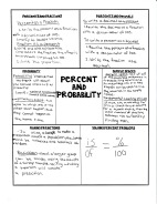 Precent and Probability